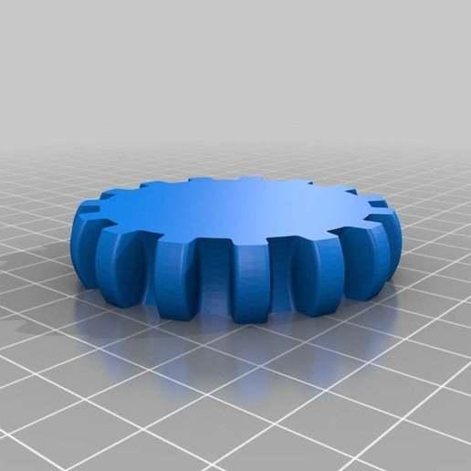Télécharger fichier STL gratuit Bracelet d'engrenage flexible (réparé pour slic3r), Nessun_Dorma