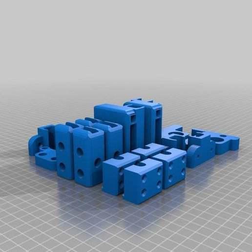200X200_i3_Tray_repaired.jpg Télécharger fichier STL gratuit Prusa i3 200x200 Construire Plateau • Objet pour imprimante 3D, Nessun_Dorma