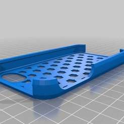 Download free 3D printing templates My Customized iPhone Case, Nessun_Dorma