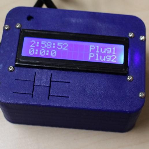 lcd-box-runnign.JPG Télécharger fichier STL gratuit Minuterie d'alimentation pour imprimante 3d • Design pour imprimante 3D, Nessun_Dorma