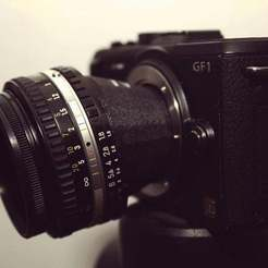 IMG_0886_display_large.jpg Download free STL file Tilt-Shift Micro Four Thirds Lens Adapter • 3D print object, Nessun_Dorma
