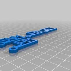 Download free 3D print files Murphy Family Keychains, Nessun_Dorma