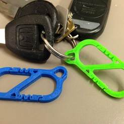 Download free 3D printer designs Mini S-Carabiner, Strong Clip, Nessun_Dorma