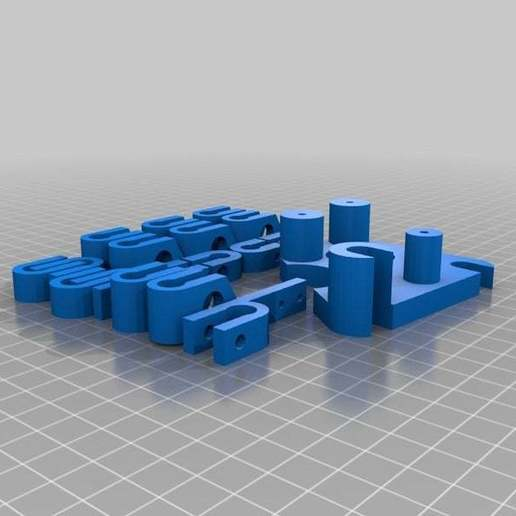Tray-7.jpg Download free STL file RepRapPro Mendel Trays • 3D printable model, Nessun_Dorma