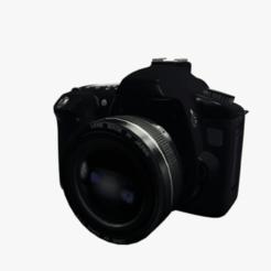 Télécharger fichier STL Appareil photo reflex numérique, keerthiybhooshan