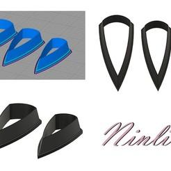 """Imprimir en 3D gratis troqueles pieza """"Silex"""", ninlil3d"""