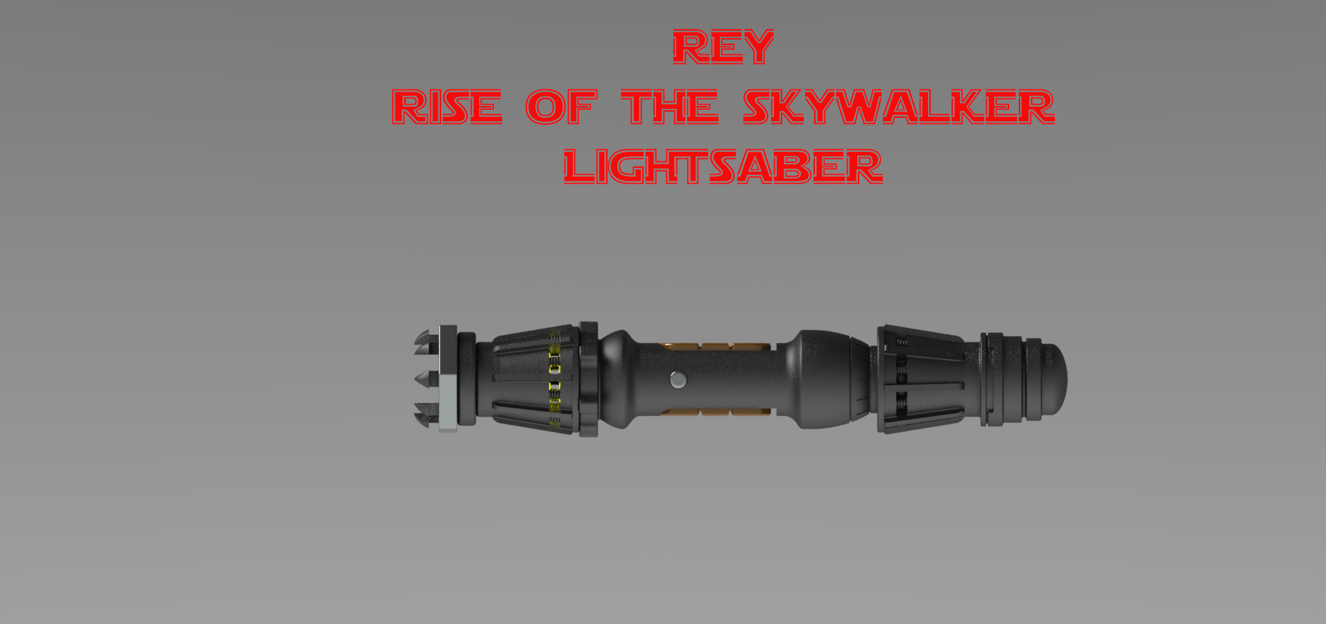 Download 3d Print Files Rey Lightsaber From Star Wars Rise Of The Skywalker Cults