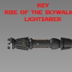 Impresiones 3D Rey Lightsaber de Star Wars Rise of the Skywalker, stanlinz