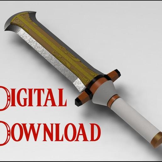 Ganondorf Sword From Super Smash Bros Ultimate