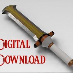 Exploded Blade.JPG Télécharger fichier STL L'épée de Ganondorf de Super Smash Bros Ultimate • Design imprimable en 3D, stanlinz