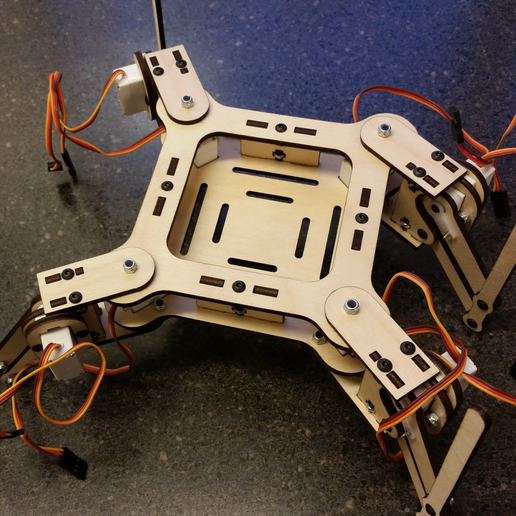 mePed_.01a_-_4.jpg Download free STL file mePed Quadruped Robot • 3D printing template, MinorSymphony