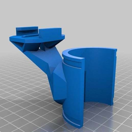 Download free 3D printing files GoPro Front Suspension Mount, MinorSymphony
