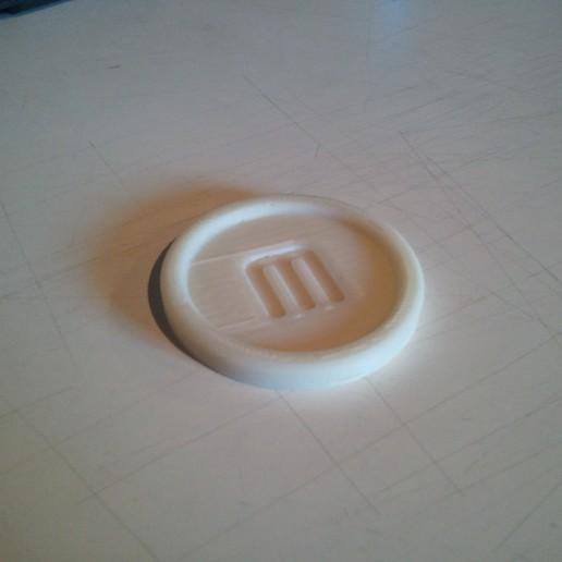 Download free 3D print files Makerbot Coaster, MinorSymphony