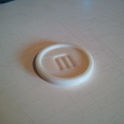 Download free 3D print files Makerbot Coaster, MinorSymphony