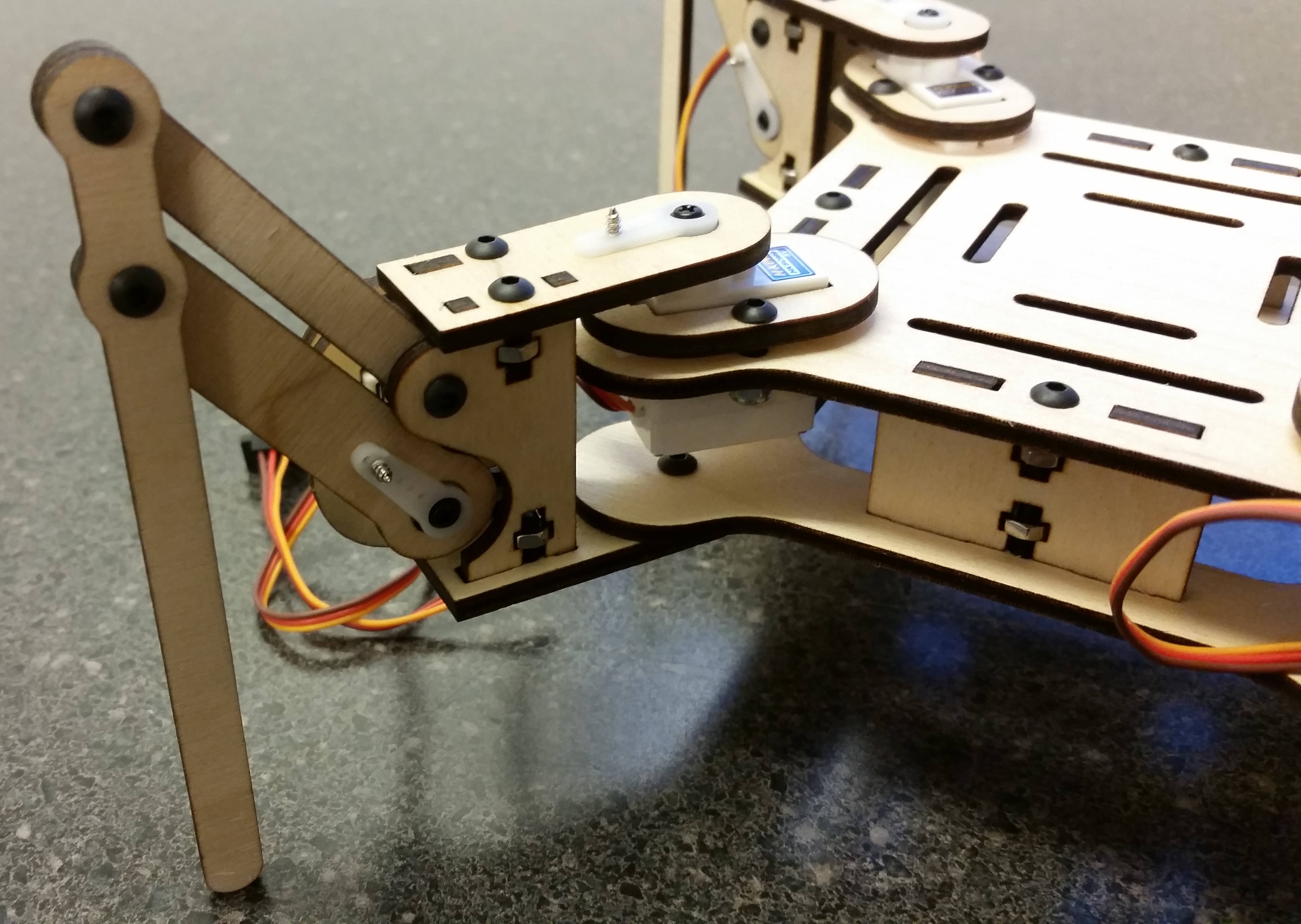 mePed_.01a_-_3.jpg Download free STL file mePed Quadruped Robot • 3D printing template, MinorSymphony