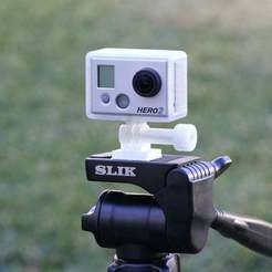 Download free 3D printer files GoPro Hero2 Tripod Mount, MinorSymphony