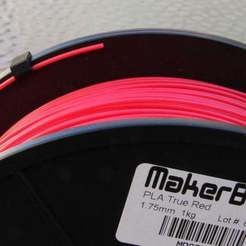Download free 3D printer model Filament Clip for Makerbot Spools, MinorSymphony