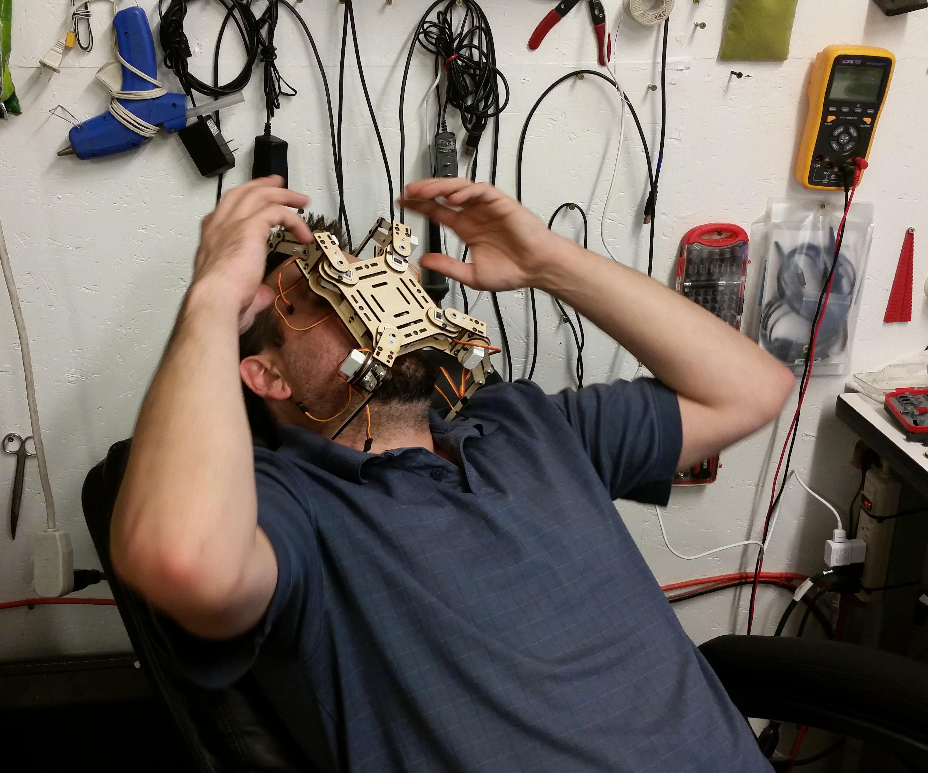 Head_Crap.jpg Download free STL file mePed Quadruped Robot • 3D printing template, MinorSymphony