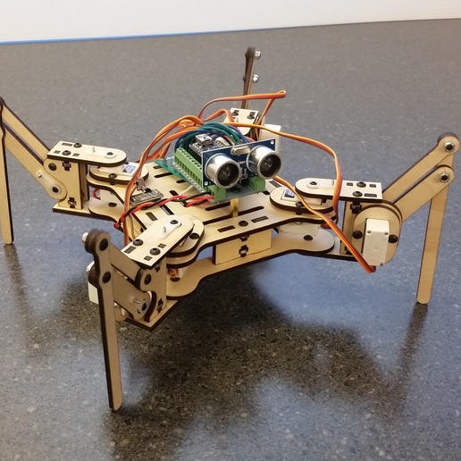 Download free 3D printing templates mePed Quadruped Robot, MinorSymphony