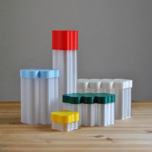 Descargar diseños 3D Álvaro, cajas n°1+2+3+4+5, warrenetlaetitia