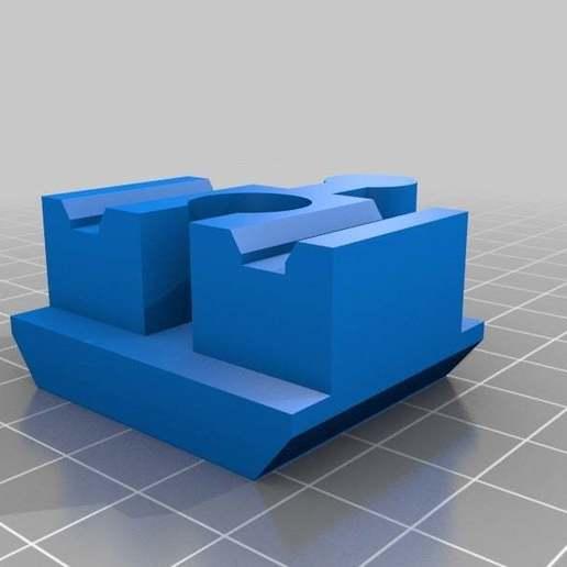 Télécharger fichier SCAD gratuit Connecteur Duplo vers Brio (petit) • Objet pour imprimante 3D, Miserere