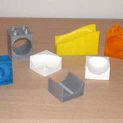 Télécharger fichier SCAD gratuit Système de roulement à billes compatible Duplo • Design imprimable en 3D, Miserere