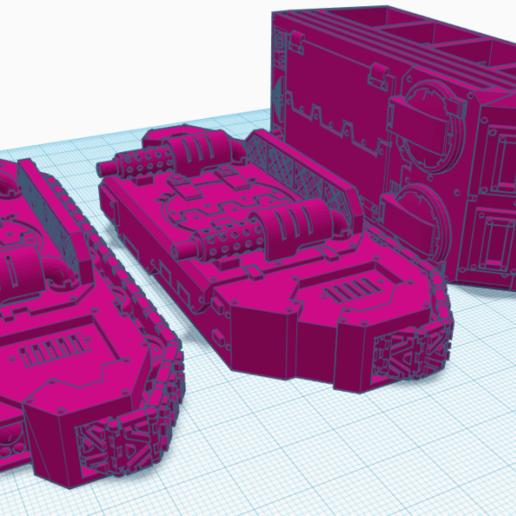 Impresiones 3D gratis Ungulados con cuernos blindados y sillas circulares, DaPhysicist