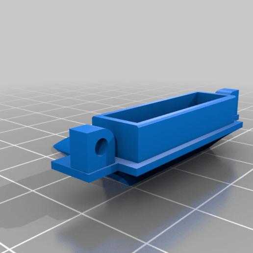 Duct3.png Télécharger fichier STL gratuit Ender 3 clone BMG V6 avec des fans de créalité • Design à imprimer en 3D, nightmare670