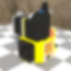 ChainMount.stl Télécharger fichier STL gratuit Ender 3 clone BMG V6 avec des fans de créalité • Design à imprimer en 3D, nightmare670