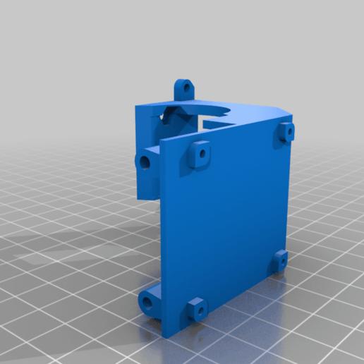 LidPart.png Télécharger fichier STL gratuit Ender 3 clone BMG V6 avec des fans de créalité • Design à imprimer en 3D, nightmare670