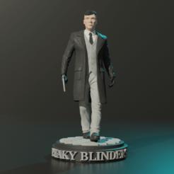 Download STL files TOMMY SHELBY 3DMODEL SABIOPRODS 3D model, Sabioprods3D
