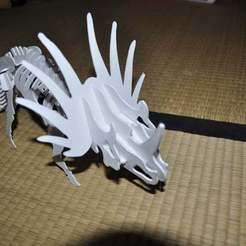 Download free 3D printer designs Styracosaurus 3D puzzle, Dino, Mendelssohn
