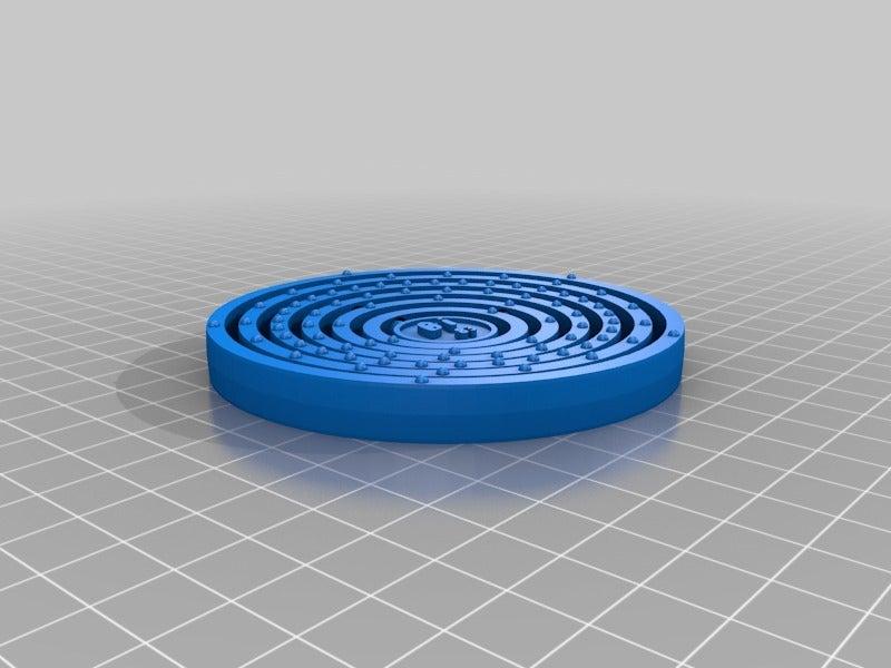 customizalbe_atom_deluxe_-_with_text_20140414-27224-1wi23rs-0.jpg Télécharger fichier STL gratuit Elément en bismuth (Bi 83) • Design à imprimer en 3D, Mendelssohn