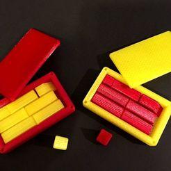 IMG_5874.JPG Télécharger fichier STL gratuit Casse-tête de l'affaire carrée • Plan pour imprimante 3D, Mendelssohn