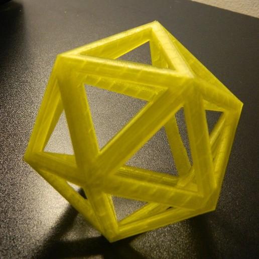 Télécharger objet 3D gratuit Icosaèdre, Mendelssohn