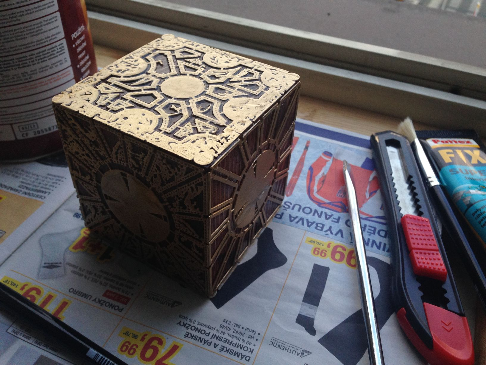 12.jpg Download free STL file The Lament Configuration (Hellraiser puzzle box) • 3D printable template, Mendelssohn