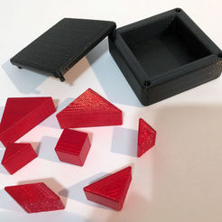 Download free 3D printer templates Simple7 Puzzle, Mendelssohn