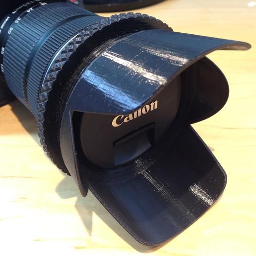 Télécharger fichier impression 3D gratuit Pare-soleil EF-S 18-135 de Canon, Mendelssohn