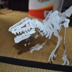 Download free STL file Velociraptor 3D puzzle, Dino • Design to 3D print, Mendelssohn