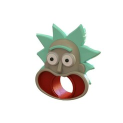RICK 1.JPG Download STL file Rick Sanchez toothpaste • 3D printing template, florenciarobinson2