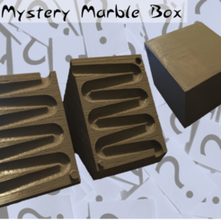 Download free 3D printing files The Mystery Marble Box, Liszt