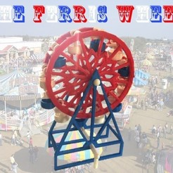 Download free STL file The Ferris Wheel • 3D printable template, Liszt