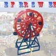 Download free STL files The Ferris Wheel, Liszt