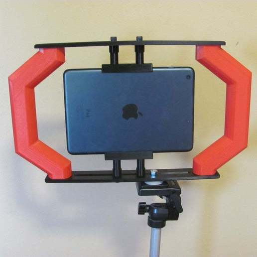 IMG_9073.jpg Download free STL file Video Podcasting Rig • 3D printable template, Liszt