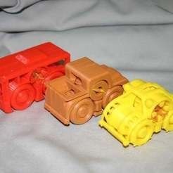 Download free 3D printer templates Rubber Band Powered Car Collection II, Liszt