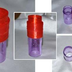 Download free STL Marble Run 25 mm Column, Liszt