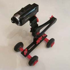 Download free STL file Video Skate Dolly, Liszt