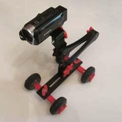Télécharger fichier 3D gratuit Vidéo Skate Dolly, Liszt