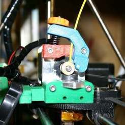 filamentFeede1.jpg Télécharger fichier STL gratuit Margeur de filament pour Mendel Prusa • Modèle imprimable en 3D, Liszt