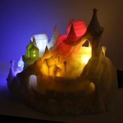 Download 3D printing models Winter Wondertown, mardur